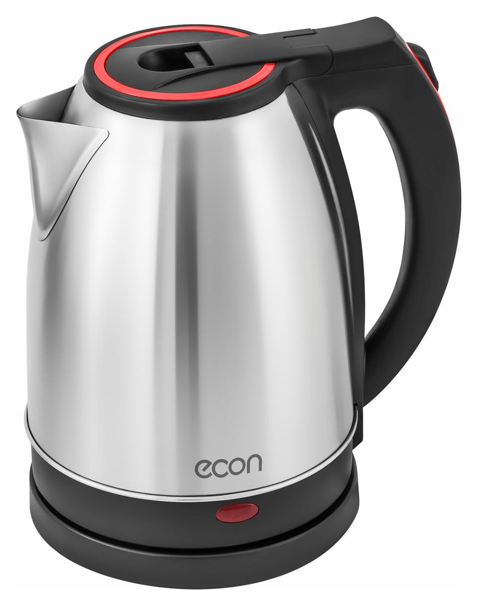 Электрический чайник ECON ECO-1872KE, серый металлик #1