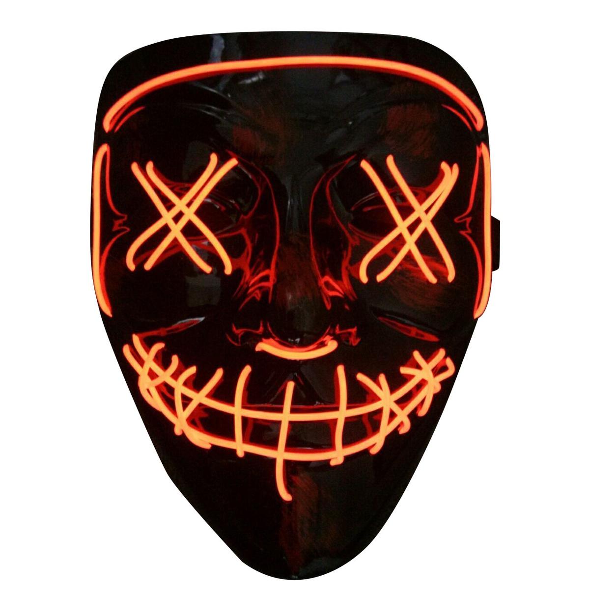 Неоновая маска Судная ночь #1