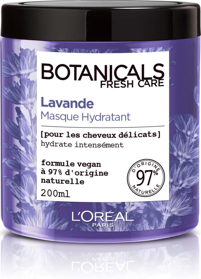 Увлажняющая маска L'Oreal Paris Botanicals Лаванда, для тонких волос, 200 мл  #1