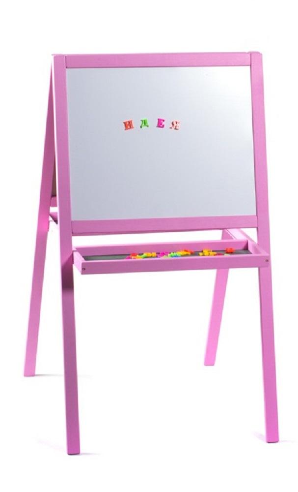 Мольберт детский 3в1 для рисования мелом и маркером мольберт ИДЕЯ №1  #1