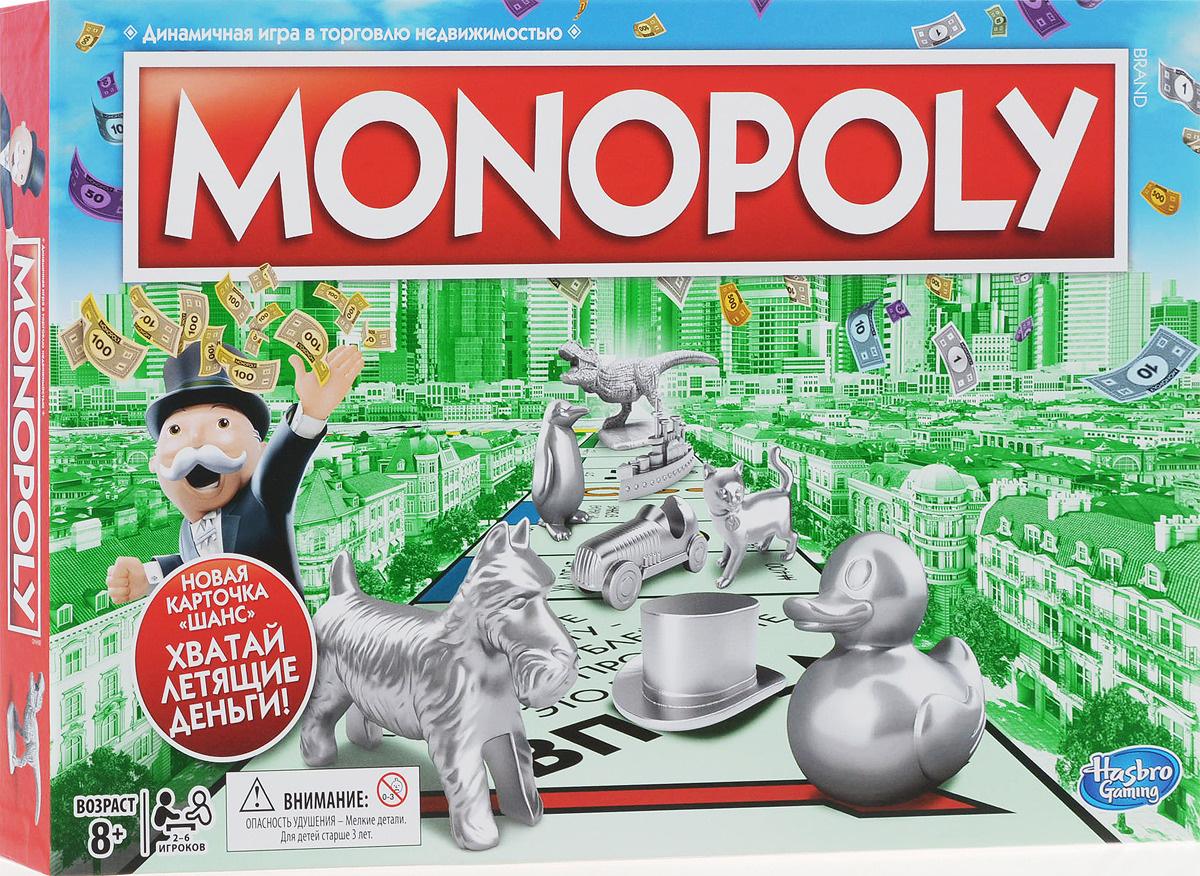 bf6a7d10 Hasbro Games Настольная игра Монополия. Классическая — купить в  интернет-магазине OZON с быстрой доставкой