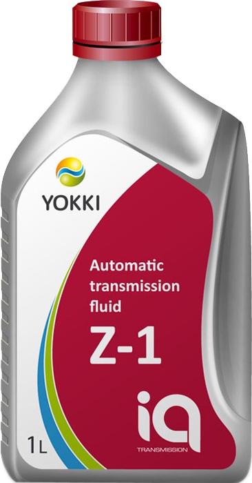 Масло трансмиссионное YOKKI IQ ATF Z-1, для автоматических коробок передач  #1