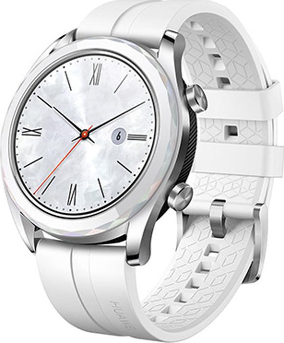 9d2fe312dca24 Умные часы Huawei Watch GT, белый — купить в интернет-магазине OZON с  быстрой доставкой