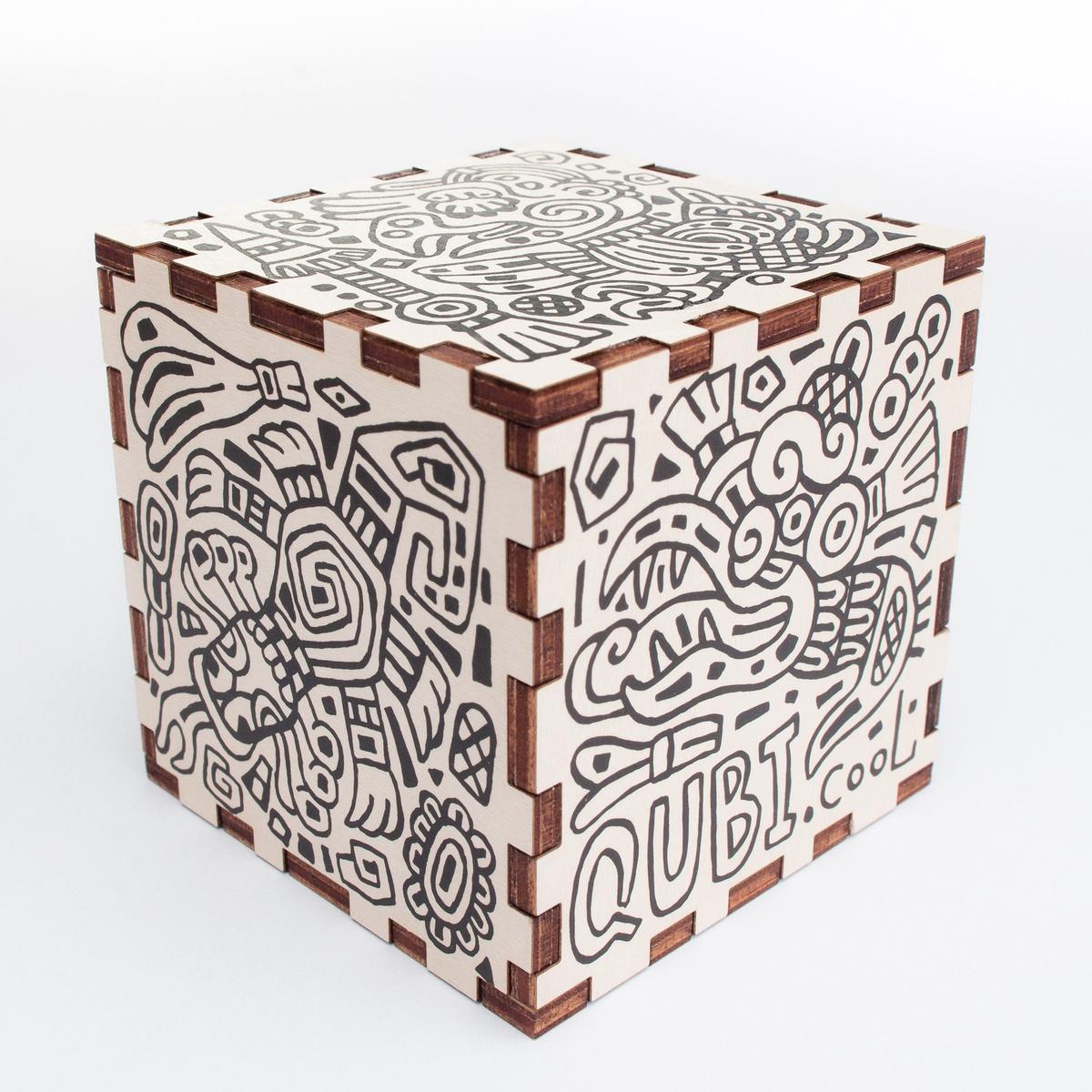 Головоломка QUBI - Дополнительная реальность (белый) белый  #1