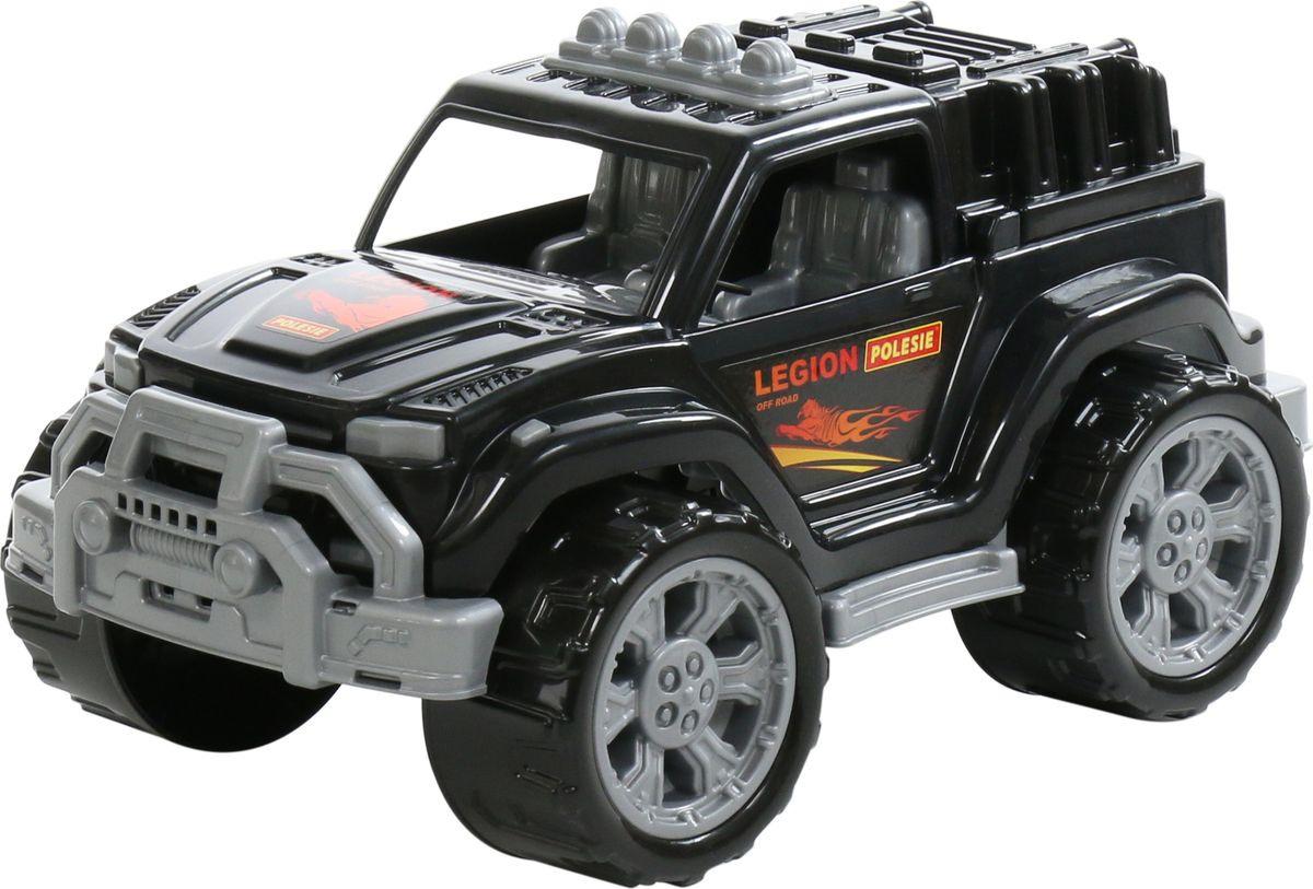 Машинка Полесье Легион №4, 76014, черный #1