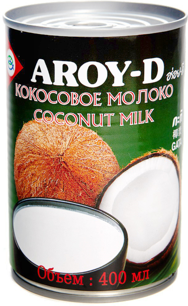 Кокосовое молоко Aroy-D, 70%, 400 мл #1
