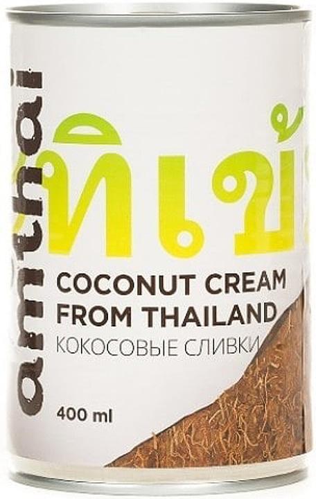 Кокосовые сливки Amthai, 400 мл #1