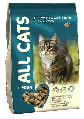 Сухой корм ALL CATS для кошек 400гр #1