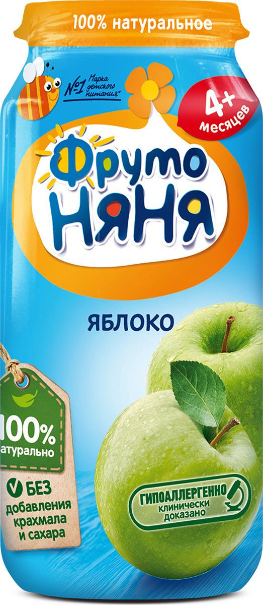 ФрутоНяня пюре из яблок с 4 месяцев, 250 г #1