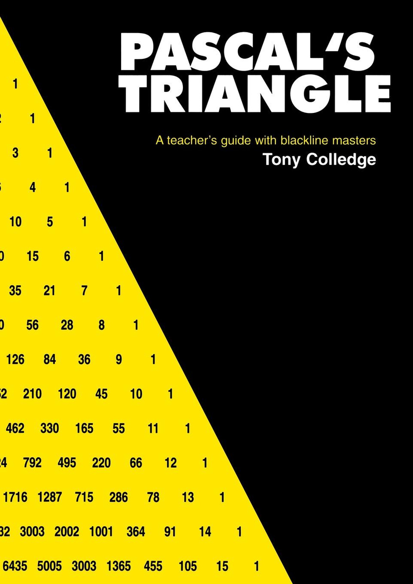 Pascal s Triangle  A Teacher s Guide with Blackline Masters