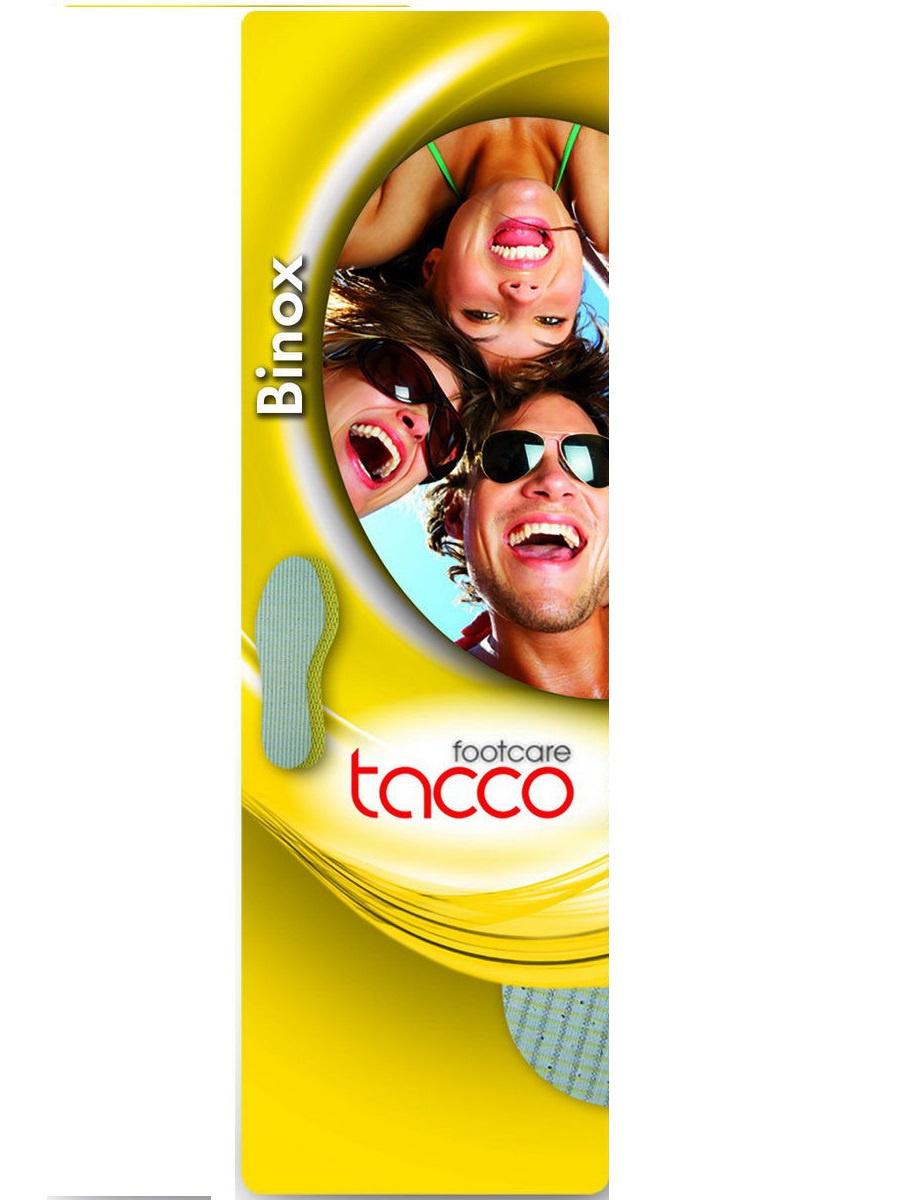 Стельки для обуви Tacco Footcare BINOX yellow   р. 38-39, Латекс #1