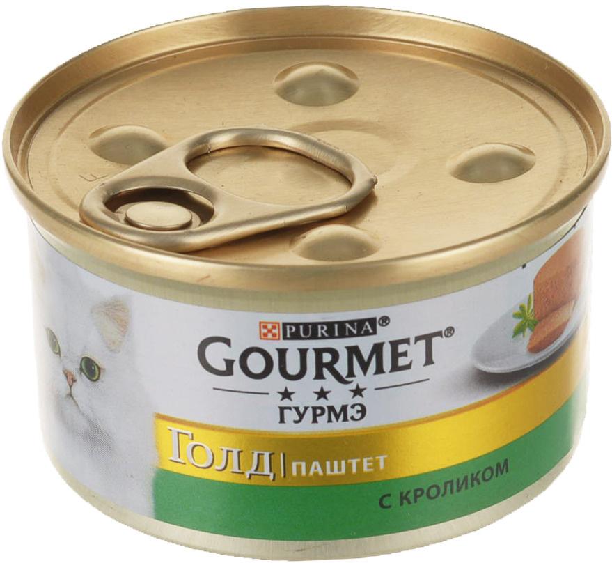 """Консервы """"Gourmet"""" для взрослых кошек, с кроликом, 85 г, #1"""