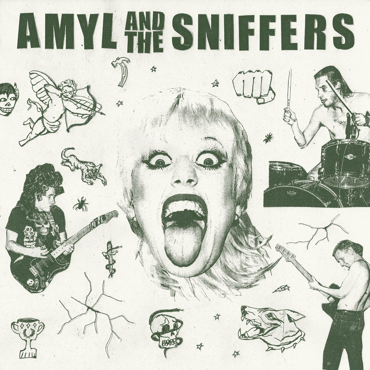 Amyl And The Sniffers. Amyl And The Sniffers #1