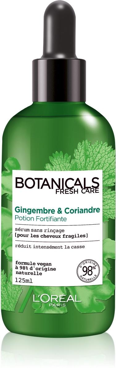 Сыворотка для волос L'Oreal Paris Botanicals Имбирь & Кориандр, для ломких волос, укрепляющая, 125 мл #1