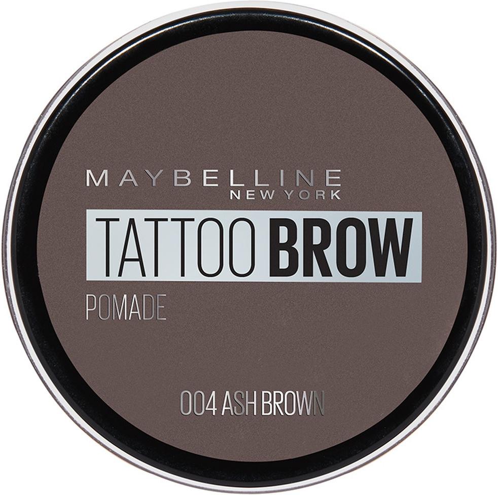 """Maybelline New York Помада для бровей """"Brow Pomade"""", оттенок 04, Пепельно-коричневый  #1"""