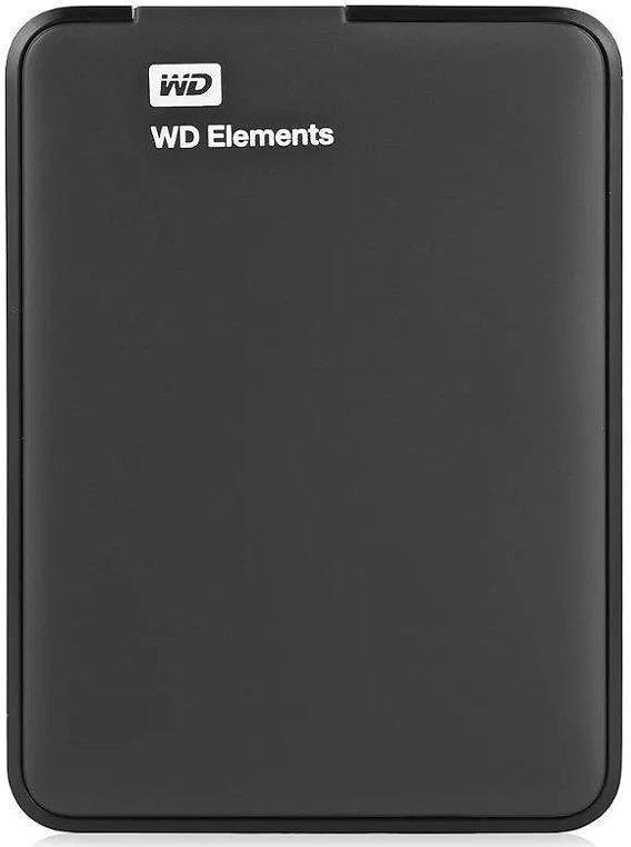 2 ТБ Внешний жесткий диск WD Elements Portable (WDBMTM0020BBK-EEUE), черный  #1