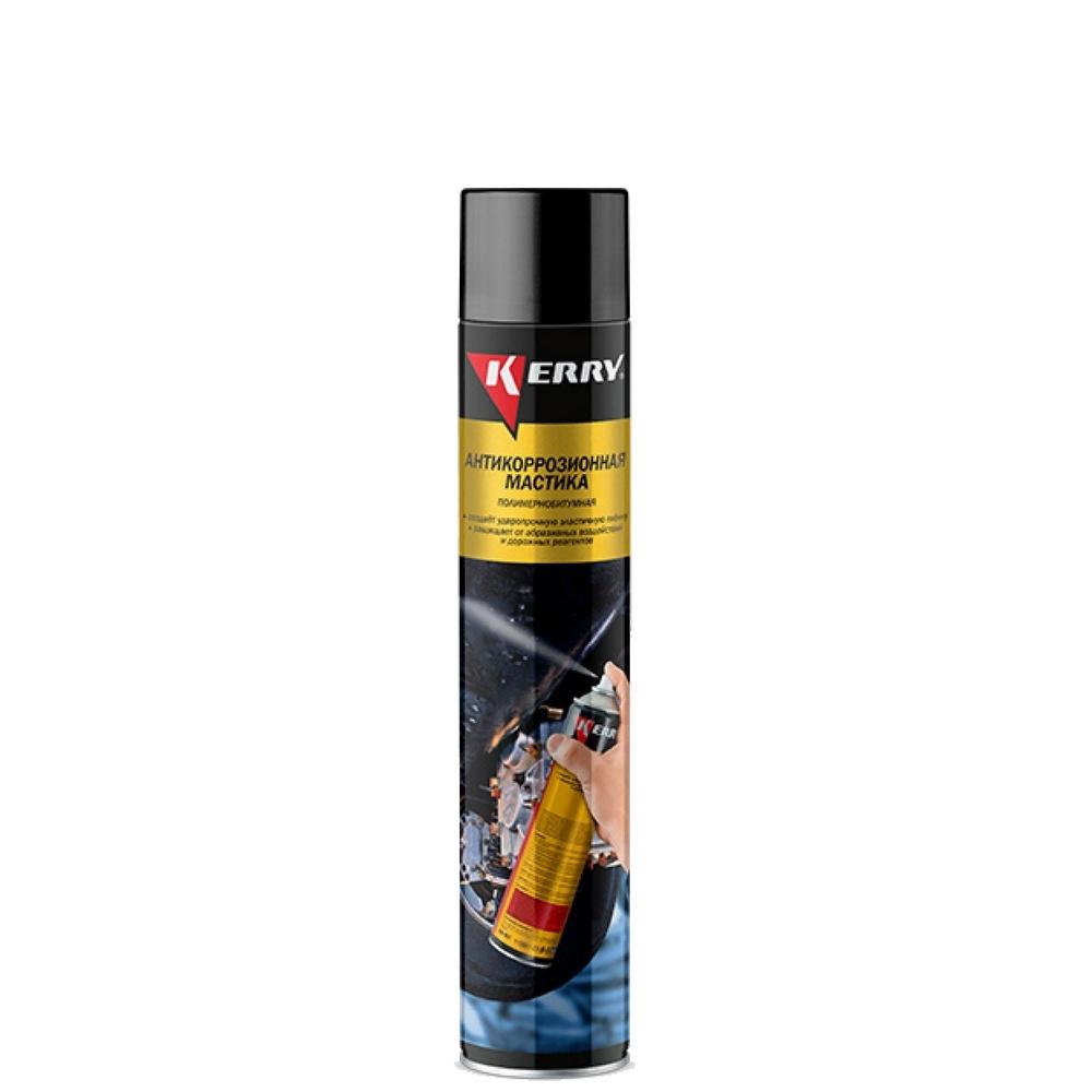 Антикоррозийная битумная мастика KERRY, аэрозоль, 1000мл #1