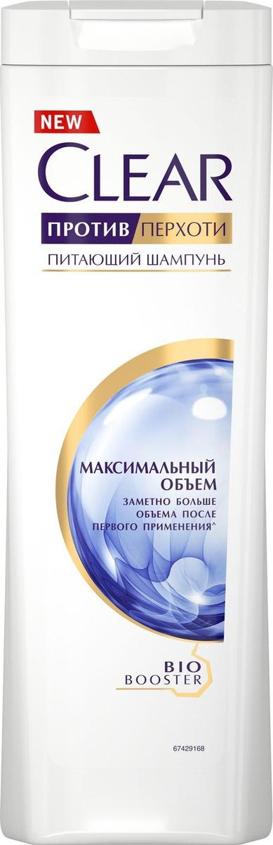 """Шампунь против перхоти Clear """"Максимальный объем"""", для женщин, 400 мл  #1"""