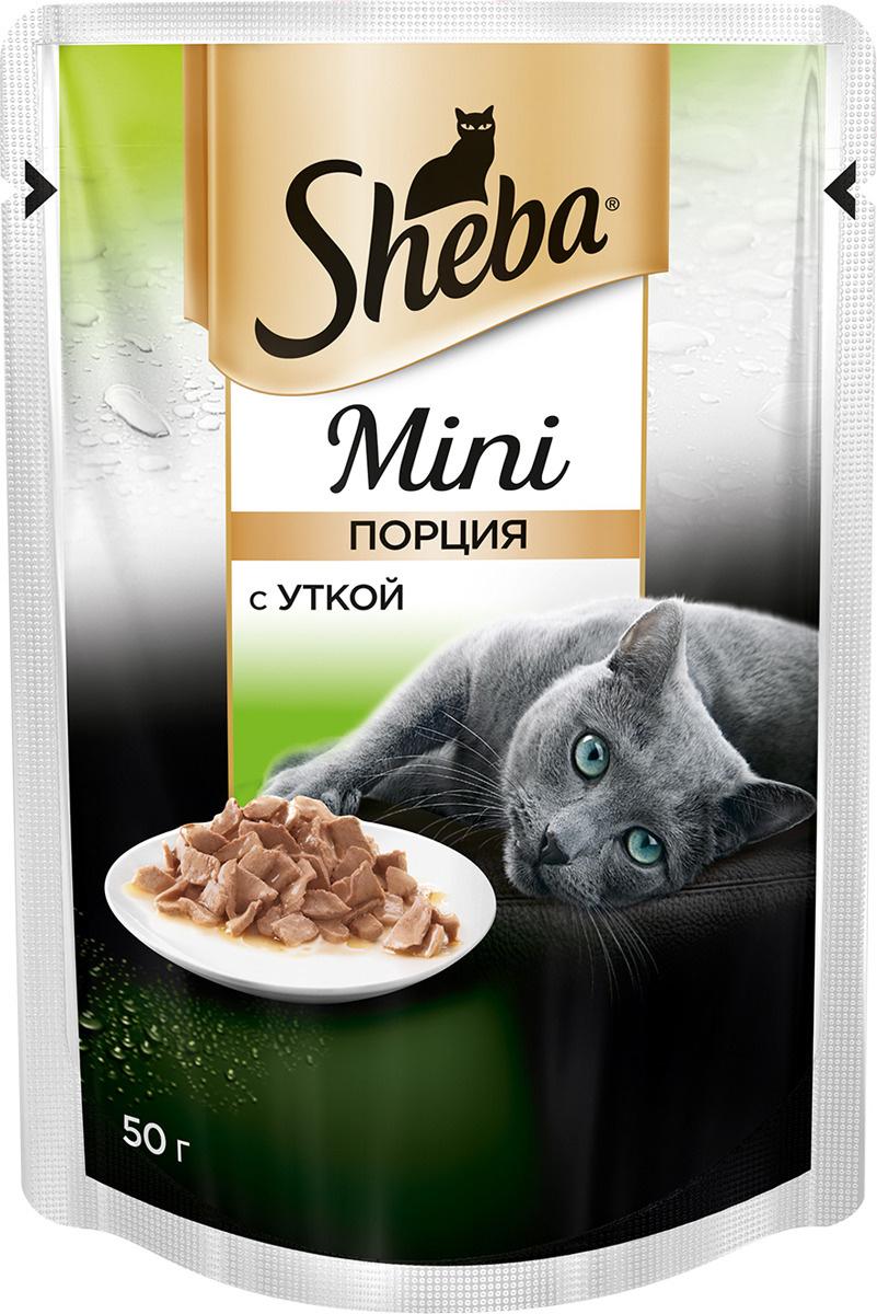 """Консервы для кошек Sheba """"Mini"""", с уткой, 50 г #1"""