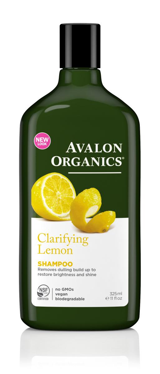 Avalon Organics Шампунь с маслом лимона, для увеличения блеска, 325 мл  #1