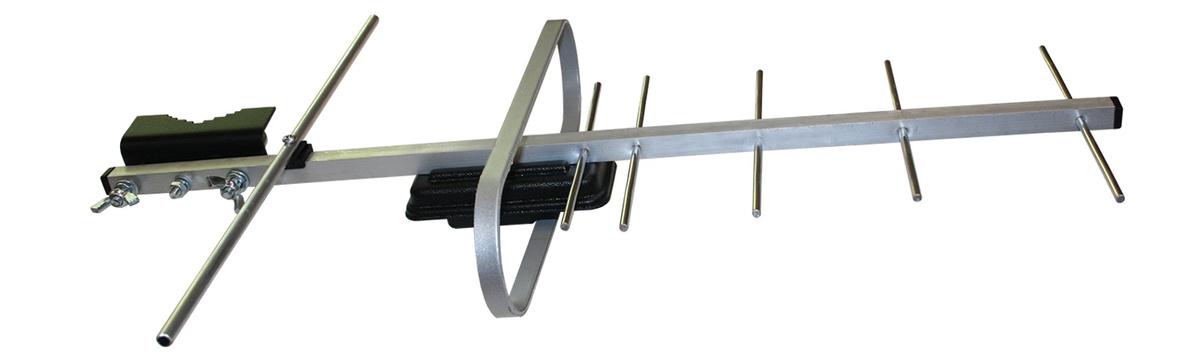 Антенна усилитель телевизионная наружная из алюминия Т-3350 ДМВ, DVB-T2, направленная активная, для прямого #1