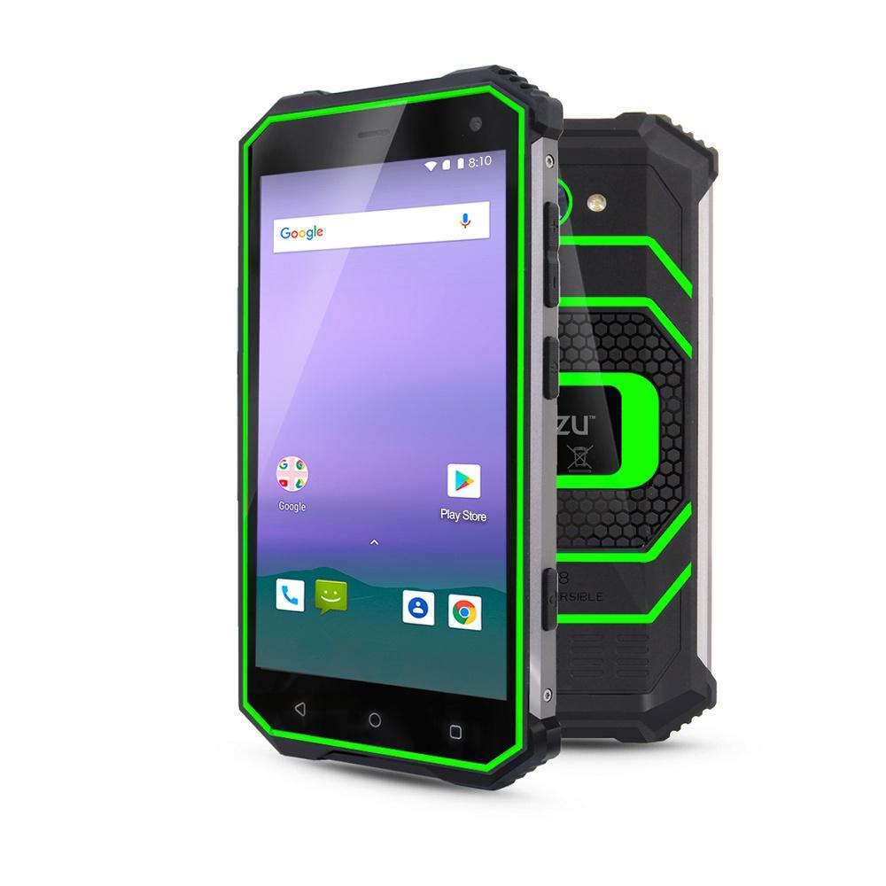 Смартфон Ginzzu 16999 3/32GB, зеленый #1