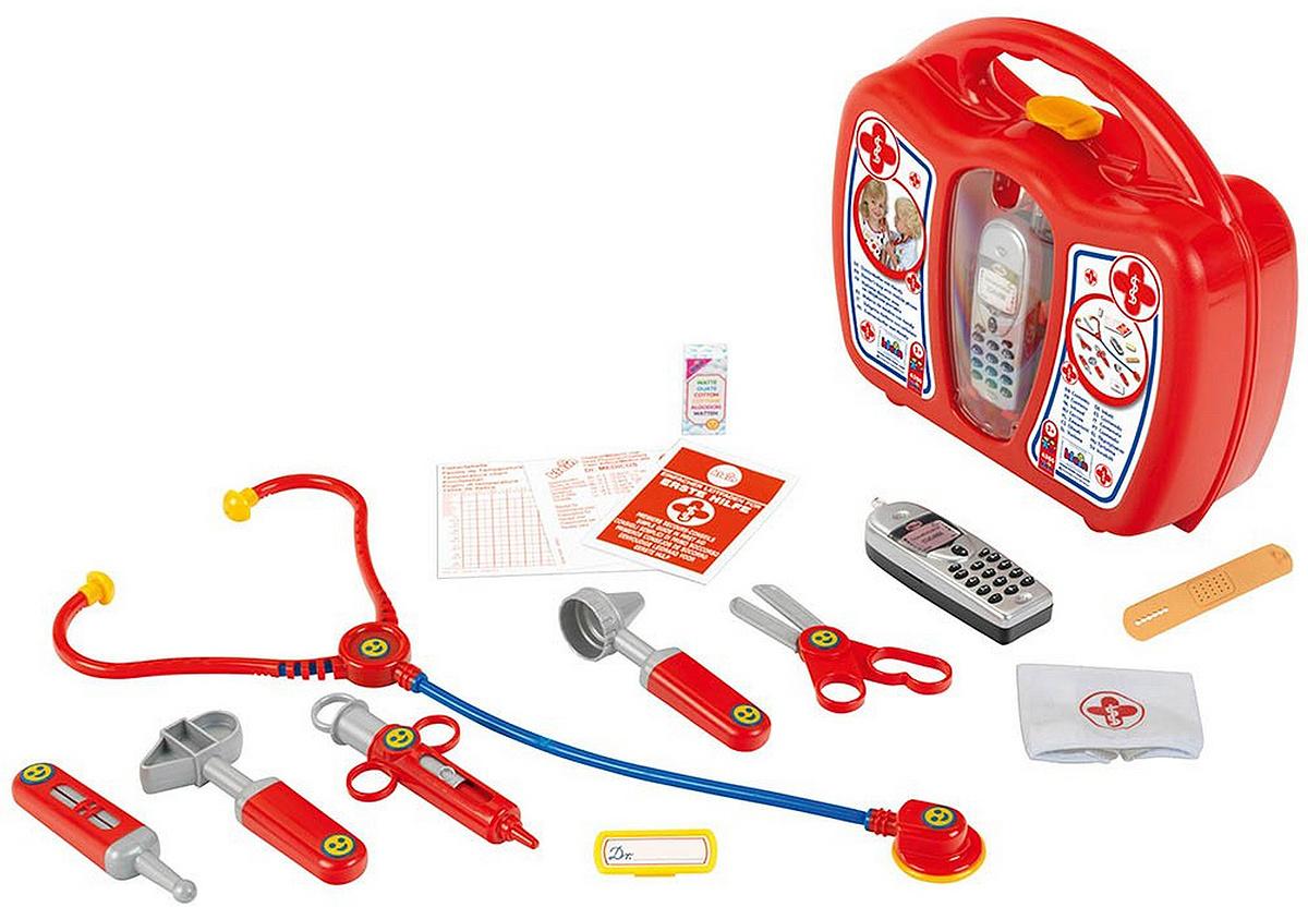 Игровой набор Кейс доктора, с телефоном, Klein  #1