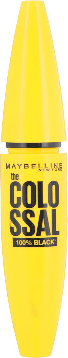"Maybelline New York Тушь для ресниц ""The Colossal Volum' Express"", 100% объем, экстрачерный  #1"