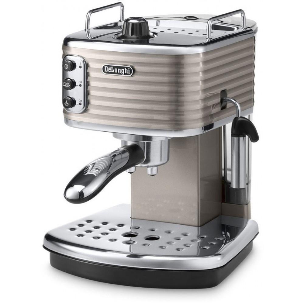 Рожковая кофеварка Delonghi Scultura ECZ 351.BG #1