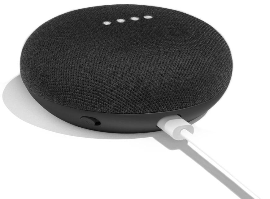 Умная колонка Google Home Mini, черный #1