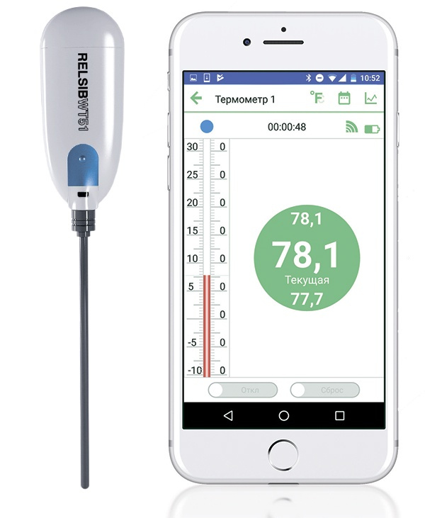 Кулинарный термометр RELSIB, с щупом 8.6 см #1