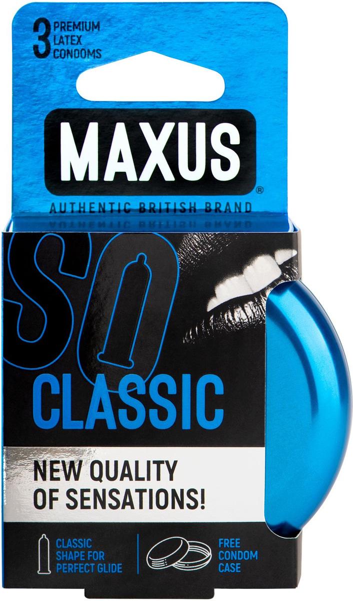 Презервативы Maxus Classic, 3 шт #1