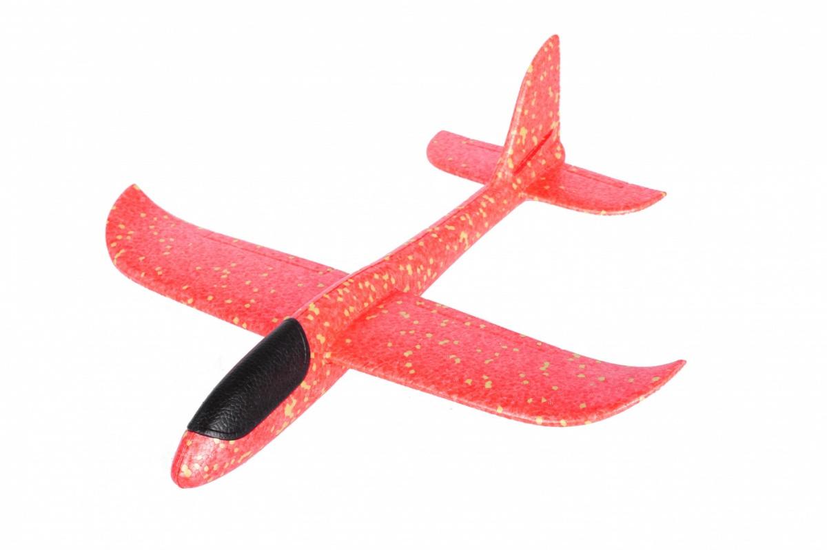 Планер большой метательный, самолет летающий из пенопропилена, 48 см Bradex  #1