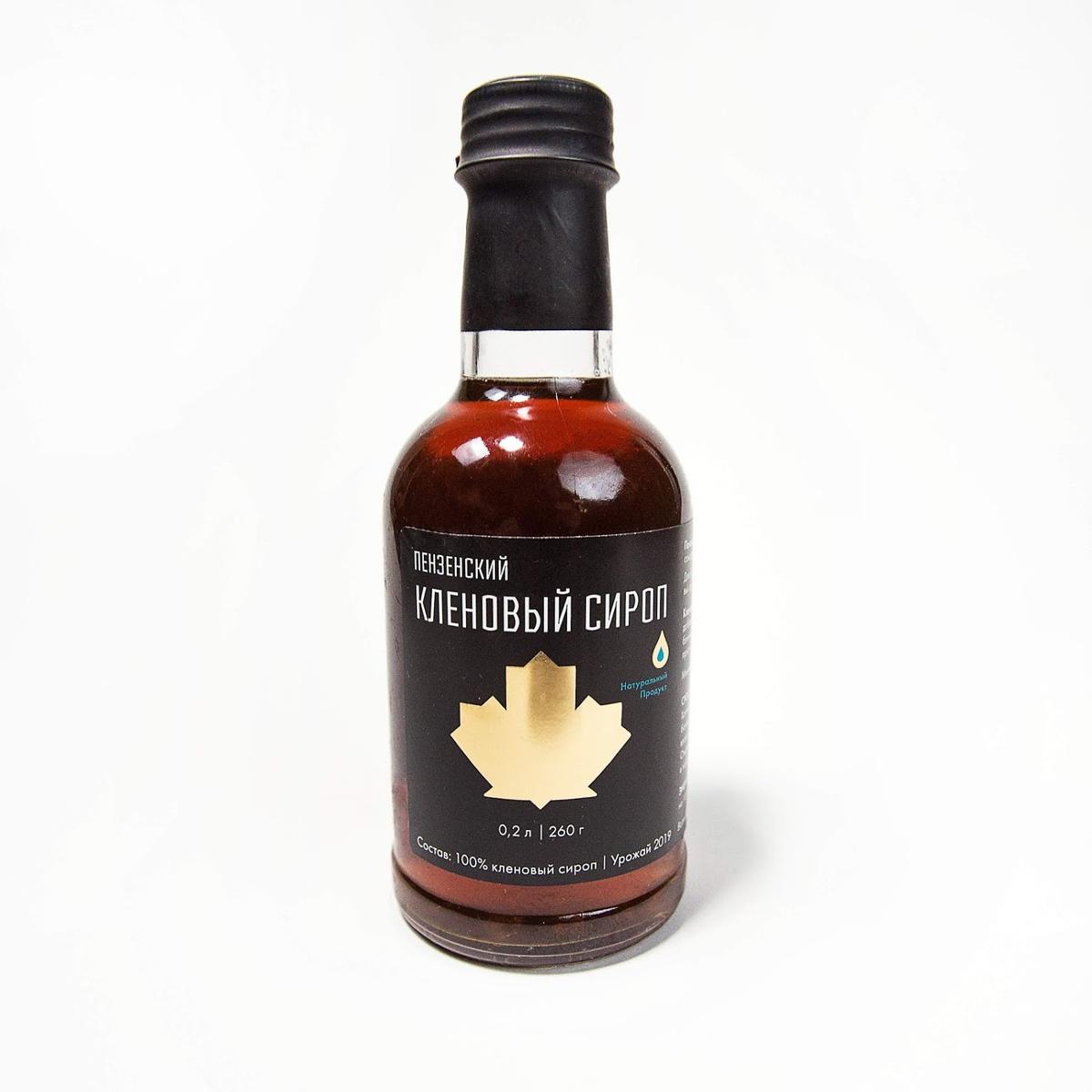 Пензенский кленовый сироп, 200мл/260г #1