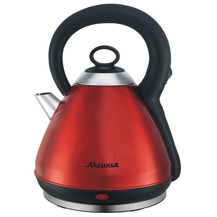 Электрический чайник Аксинья КС-1011, серебристый #1