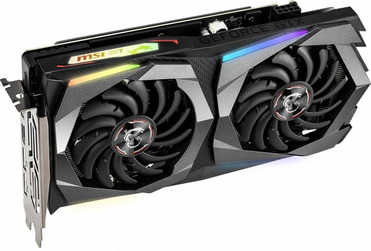 Видеокарта MSI GeForce GTX 1660 GAMING X 6GB #1