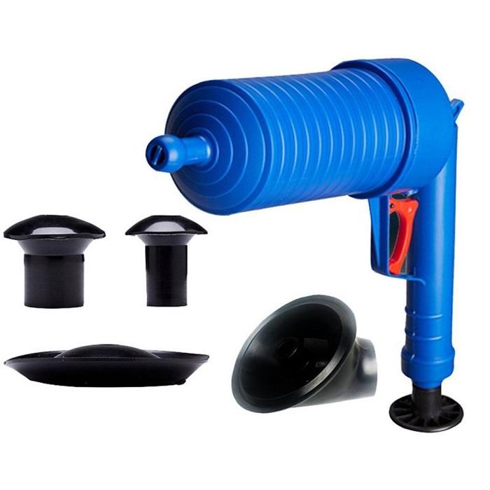Бластер для прочистки труб раковины, ванны и унитаза #1