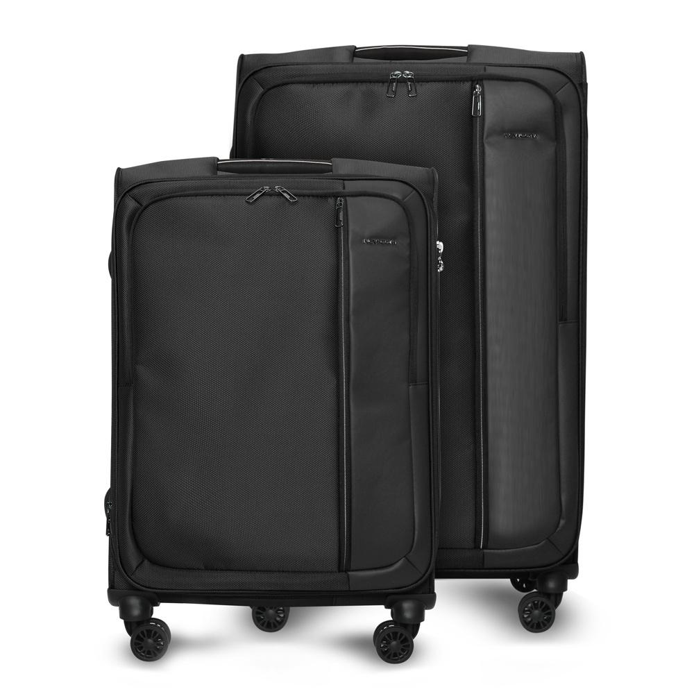 Комплект чемоданов Newcom, Ткань, 78 см, 107 л #1