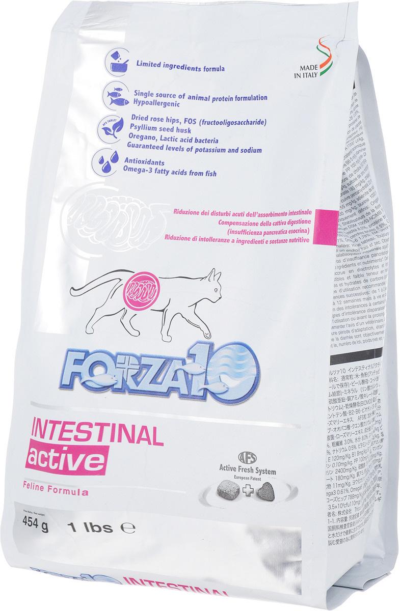 """Корм сухой Forza10 """"Active Line"""" для взрослых кошек при проблемах пищеварения, 0,454 кг  #1"""