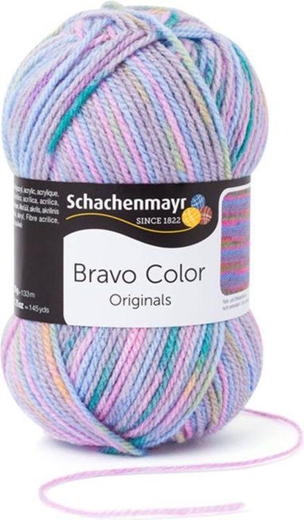 Пряжа для вязания Schachenmayr Originals Bravo Color, пастель (2116), 266 м, 50 г, 3 шт  #1