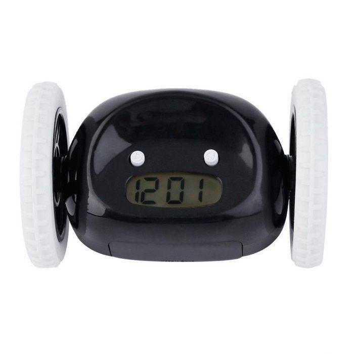 Убегающий будильник Alarm Clocky Run (черный) #1