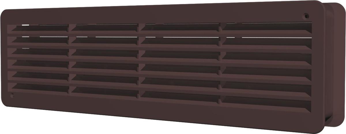 Вентиляционная решетка ERA, 4513ДП, коричневый, переточная  #1