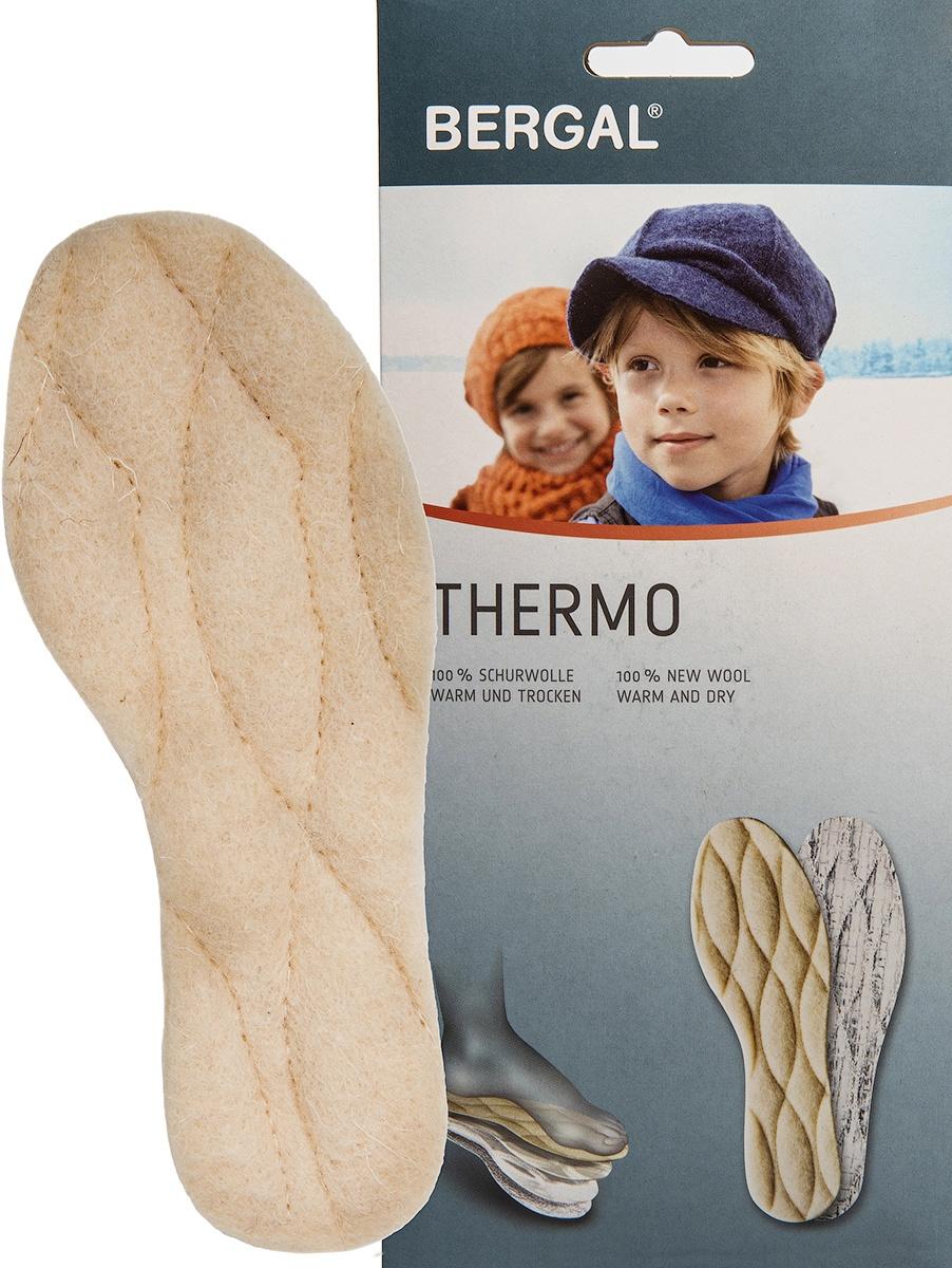 Стельки детские из натуральной шерсти BERGAL Thermo 24 #1