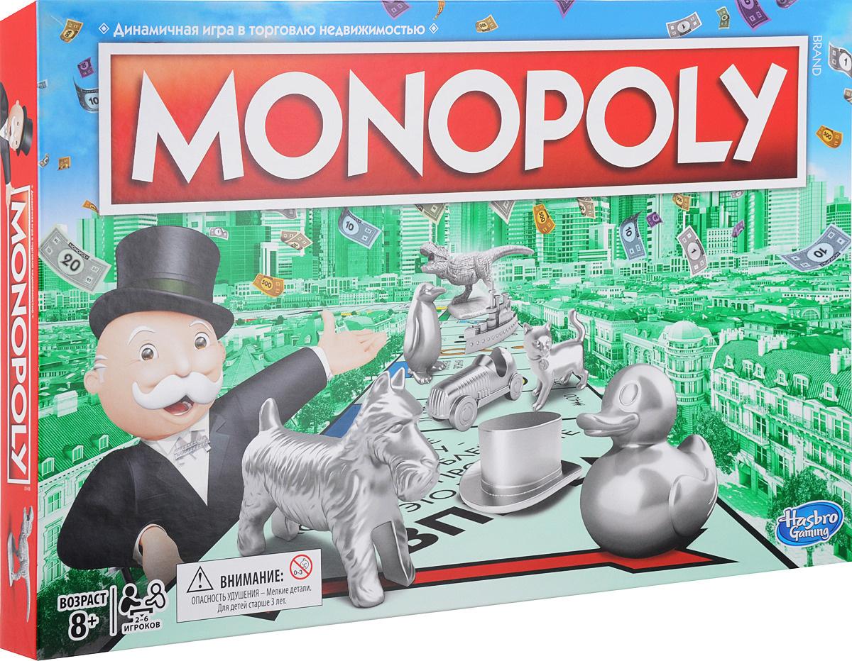 Hasbro Games Настольная игра Монополия. Классическая #1