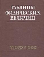 Таблицы физических величин. Справочник