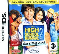Игра High School Musical 2: Work This Out! для Nintendo DS