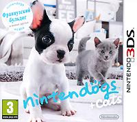 Nintendogs + Cats. Французский бульдог и новые друзья (3DS)