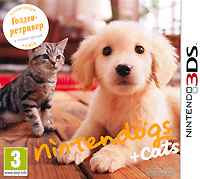 Игра Nintendogs + Cats. Голден-ретривер и новые друзья для Nintendo 3DS