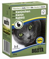 Консервы для кошек Bozita Feline, с кроликом в соусе, 370 г