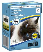 Консервы для кошек Bozita Feline, с мясом оленя в соусе, 370 г